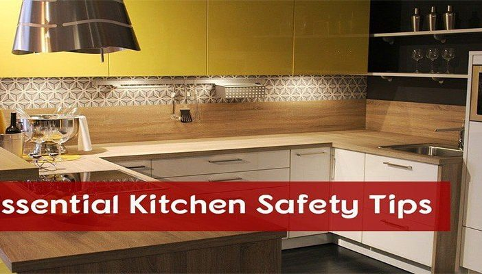 Essential kitchen safety tips new