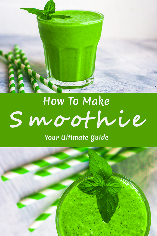 smoothie green make