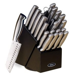 Best 22-Piece Kitchen Knife Set from Oster Baldwyn