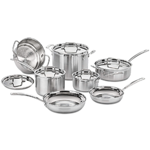 Cuisinart MultiClad Pro Stainless Steel Cookware Set