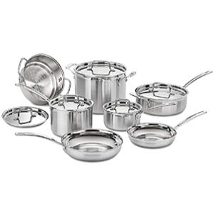 Cuisinart MultiClad Pro Stainless Steel Set