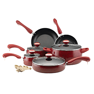Paula Deen Signature Nonstick 15 Piece Cookware Set