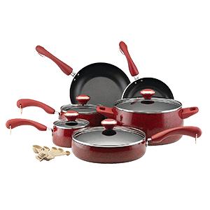 Paula Deen Signature Nonstick 15 Piece Cookware Set