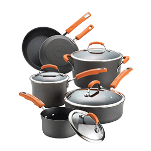 Rachael Ray Hard Anodized Aluminum Cookware Set