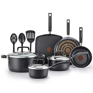 T-fal Signature 12 Piece Nonstick Set