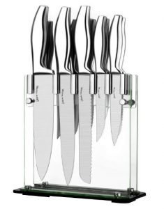 Utopia Kitchen Premium Class Stainless-Steel 12 Kitchen Knife Set