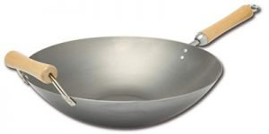 Joyce Chen Classic Series 14 Inch Carbon Steel Wok