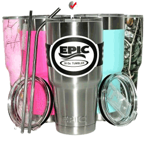 insulated stainless steel travel tumbler by epic