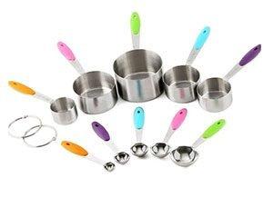 AEDILYS 10 Piece Best Measuring Spoons