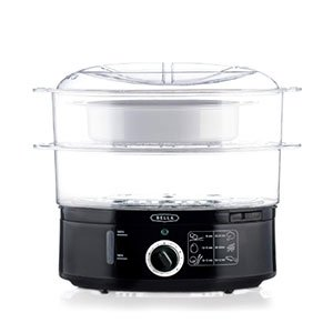 BELLA 7.4 Quart Healthy Food Steamer