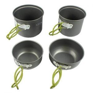 G4Free Outdoor Hiking And Camping Cookware