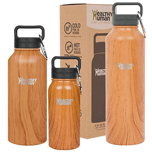 Healthy Human Vacuum Insulated Water Bottle Stein