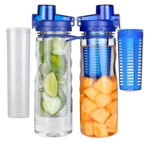 Infuser Water Bottle Sport Flip-top BPA-Free