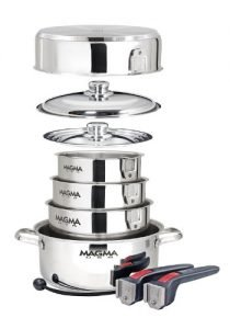 Magma Products 10 Piece Cookware For Camping