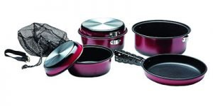 Texsport Kangaroo 7 PC Camping Cookware Set