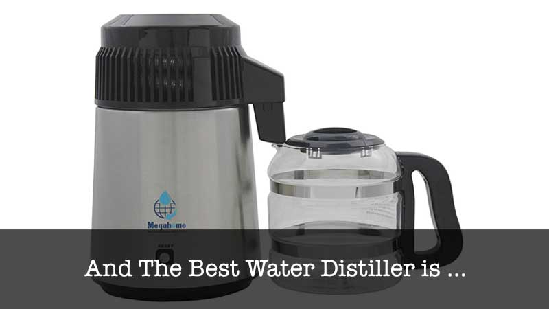 The Best  Water Distiller Stainless with Glass