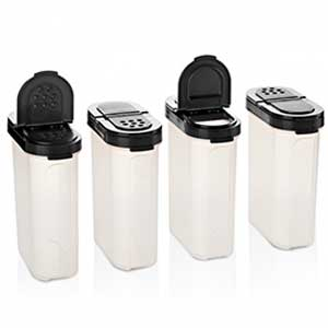 Tupperware Large Spice Shaker Set of Four
