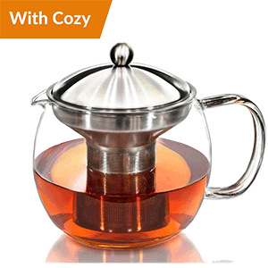 Willow and Everett Tea Pot Kettle with Warmer
