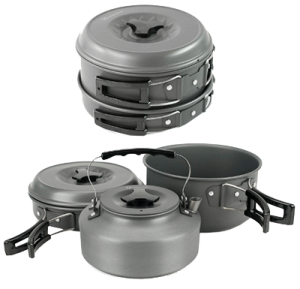 Winterial Camping Cookware Set