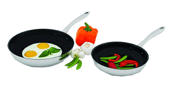 2 Piece Set Nonstick Omelet Pans