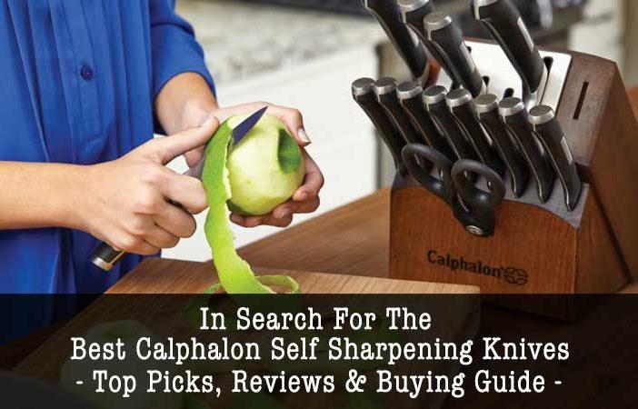 Calphalon self-sharpening knives reviews