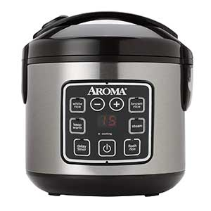 Aroma Housewares 8 Cup Digital Cool Touch Rice Cooker