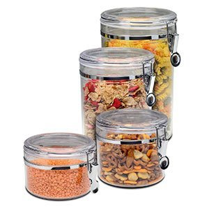 Bellemain 4 Piece Airtight Storage Container