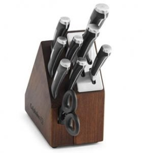 Calphalon Self Sharpening Precision Space-Saving Cutlery Set