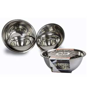 ChefLand Set of 6 Standard Weight Mixing Bowls