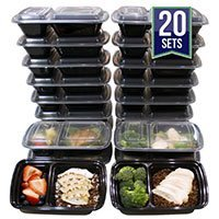Compartment Meal Prep Containers with Lid