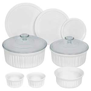 CorningWare 6018696 French 10 Piece Bakeware Set
