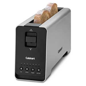 Cuisinart CPT 2000 2 Slice Long Slot Motorized Toaster