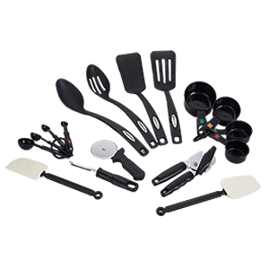 Farberware Classic 17 Piece Tool and Gadget Kitchen Utensil Set