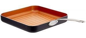 Gotham Steel 10.5 inch Non Stick Grill Pan