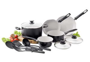 GreenLife Everyday Value Cookware Set