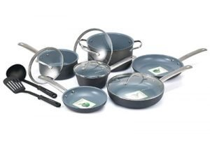 Non Stick Ceramic GreenLife Cookware Set