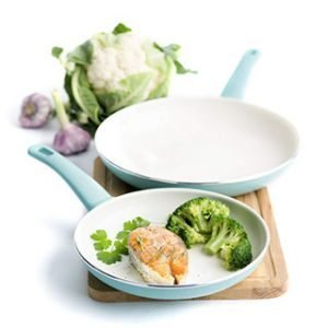 Soft Grip 7 Inch And 10 Inch GreenLife Cookware Set