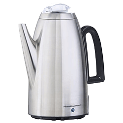 Hamilton Beach Brands Twist Lid Coffee Percolator