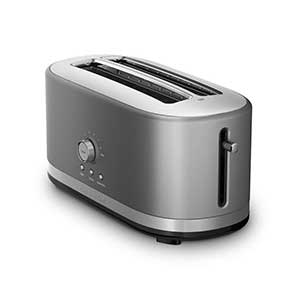 kitchenaid kmt4116cu 4 slice long slot toaster