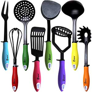 Kitchen Utensils Set By Chefcoo™ Non Stick Cookware Set
