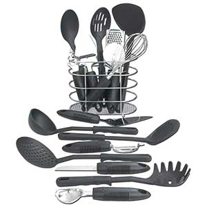 Maxam 17 Piece Kitchen Utensil Tool Set