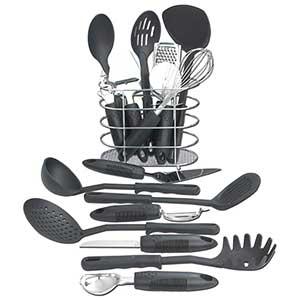 Maxam 17 Piece Kitchen Utensil Tool Set