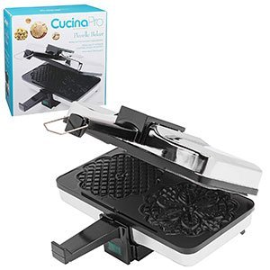 Non-stick Electric Pizzelle Baker Press