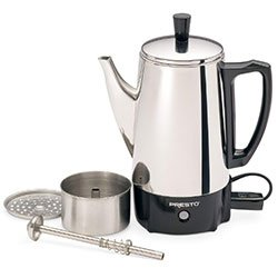 Presto 6 Cup Stainless Steel Coffee Percolator
