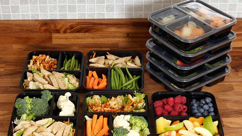 Recommended Containers for Meal Prep