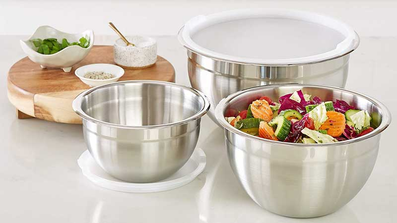 New  Recommended Stainless Steel Mixing Bowl