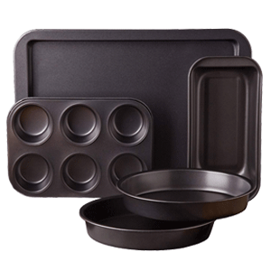 Sunbeam 76893.05 Kitchen Bake 5-Piece Bakeware Set