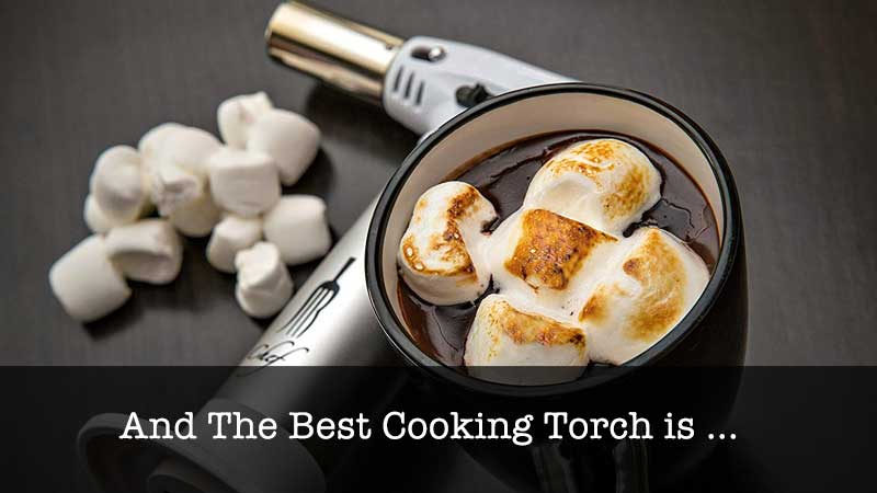 The Best Cooking Torch