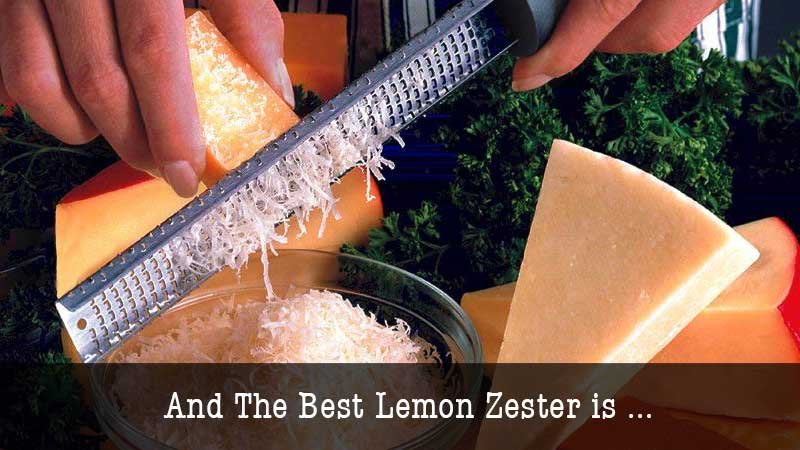 The Best Lemon Zester