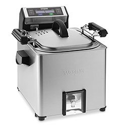 Waring Electric Digital Rotisserie Turkey Fryer and Deep Fryer Steamer